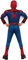 Spiderman Costume Halloween Kids Deluxe Spiderman Costume Costume Craze