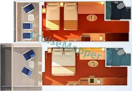 Carnival Triumph Ocean Suite Floor Plan Carnival Miracle Cabins And Suites Cruisemapper