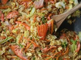 carrots thanksgiving salmon fried rice with carrots and cabbage recipe phoebe lapine