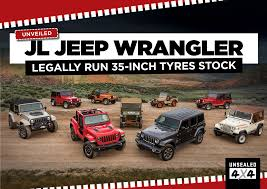 jeep boss mike manley confirms unveiled jl jeep wrangler u2013 legally run 35 inch tyres stock