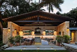 Outside Kitchen Design Ideas 95 Cool Outdoor Kitchen Designs Digsdigs For Design Decorations 8