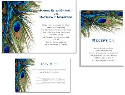 peacock wedding invitations 25 peacock wedding invitations rsvp and reception cards 2580528
