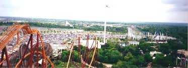 Six Flags Giant Aerial Six Flags Great America Photos