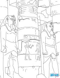 luxor temple entrance online for kids coloring pages hellokids com