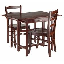 Drop Leaf Table Canada Winsome Taylor 3 Piece Set Drop Leaf Table With Ladder Back Chair