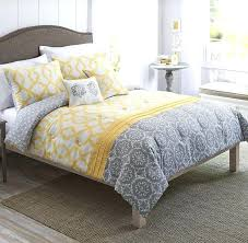 Yellow And Grey Bed Set Yellow And Grey Bedding Thecolumbia Club