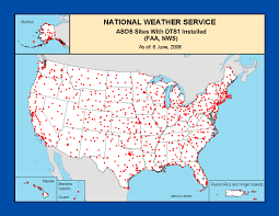 Surface Map Surface Observations Program Asos Maps And Charts