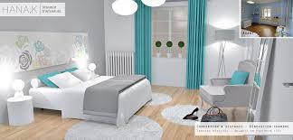 chambre blanche et beautiful chambre turquoise étourdissant chambre blanche et