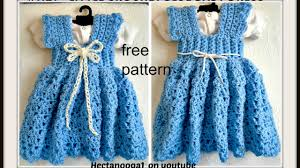 crochet a sundress or jumper 3 to 6 months free pattern 1122yt