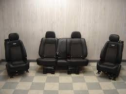 06 09 trailblazer ss leather and suede seats full set ls1tech