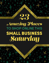 black friday small business saturday cyber monday