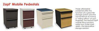 Mobile File Cabinet Marvel Zsmpff23 Zapf 2 Drawer Mobile Pedestal File Cabinet 15x23 L