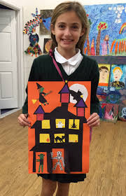 kids at art wishes you a happy halloween with some crafts