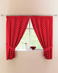 Home Essentials Curtains Polka Dot Kitchen Curtains Home Beauty U0026 Gift Shop