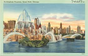 here now 51 vintage postcards from the windy city curbed chicago
