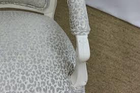 leopard print bergere chair cabinet refinishing furniture