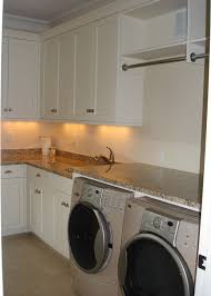 How To Install Wall Cabinets In Laundry Room Laundry Room Hanging Rod Laundry Room Traditional With Beach House