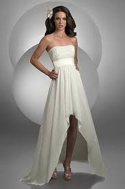 high to low wedding dress bari high low strapless destination wedding dress 2022