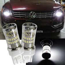 Led Car Lights Bulbs by Newest Xenon White 48 Smd 3014 Reflector 7440 T20 Led Bulbs For