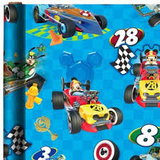 mickey mouse wrapping paper mickey mouse gift wrap party city