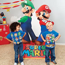 mario party supplies mario party supplies mario luigi size cardboard