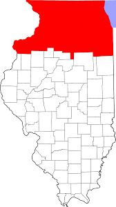 State Map Of Illinois by Northern Illinois Wikipedia