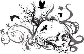 birds skull tattooforaweek temporary tattoo largest temporary