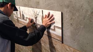 Installing Ceramic Wall Tile How It S Made Cutting And Installing Wall Tile Install Ceramic