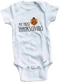 baby thanksgiving clothes my first thanksgiving cute infant clothing funny baby clothes