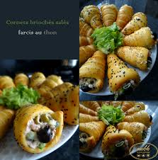 classeur recette cuisine cornets briochés salés farcis au thon makla la cuisine authentique