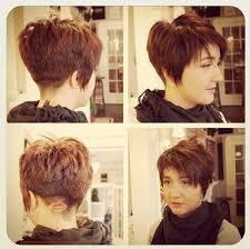 short choppy razored hairstyles short choppy layered razor cut with bangs hairstyles weekly