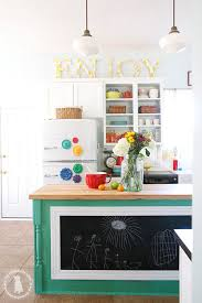 kitchen refresh ideas kitchen refresh the handmade home the framed chalkboard on