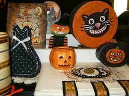 vintage paper mache halloween decorations