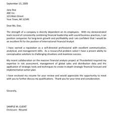 Cover Letter For Internal Position Sample Financial Analyst Cover Letter Choice Image Cover Letter