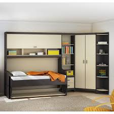 Transitional Style Bedrooms by Bedroom Charming Dakota Corner Murphy Bed Nice Visual Appeal And