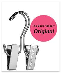 amazon com the original boot hanger shoe storage space saver