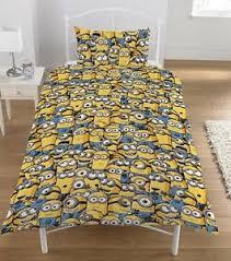 Octonauts Bed Set Despicable Me Minions Junior Cot Bed Duvet Quilt Cover Bedding Set