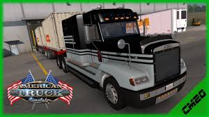 truck bumpers including freightliner volvo peterbilt kenworth american truck simulator monday test drive freightliner fld