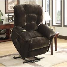 casual power lift recliner in chocolate upholstery cole u0027s