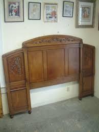Oak Headboard King Antique Oak Headboard Churchtelemessagingsystem