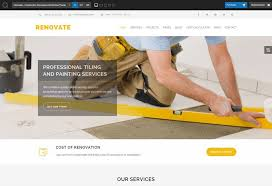 renovation theme 21 best construction wordpress themes of 2018 codeless