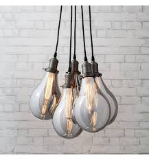 Light Bulb Ceiling Pendant Product Image Home Industrial Style Pinterest Multi Light