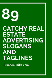 Real Estate Agent Profit And Loss Statement Template by 91 Catchy Real Estate Advertising Slogans And Taglines