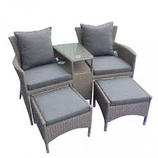 Kettler Jarvis Recliner Rattan Chair And Footstool Furniture Ideas