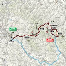 Route 80 Map by 2017 Giro D U0027italia Live Video Preview Startlist Route Results