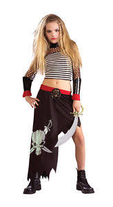 ship wrecked pirate wench queen maiden child tween teen