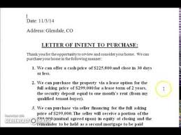 purchase proposal template sample letter of interest to