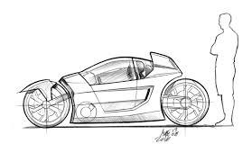 cartoon sports car black and white 2d car drawing turcolea com