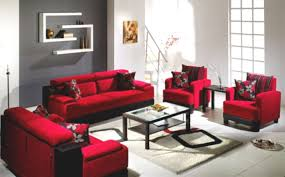 living room lighting ideas interior design colors with red sofas