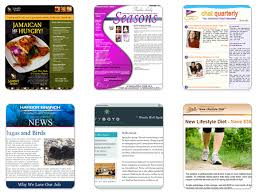 create a custom newsletter template with benchmark